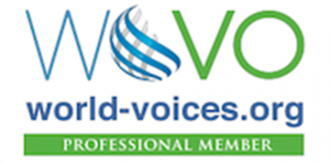 WoVo Site Badge Professional 200x100 on white